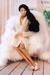 Wig for Sybarite, Sybarite Summer, knitted cardigan MSD (Natali Razgulova) Tags: knitted wigforsybarite sybaritesummer knittedcardiganmsd cardiganmsd