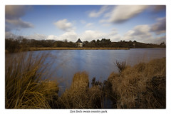 Llyn llech Owain (jppowellphotography) Tags: longexposure cold water bare boggy shivering colourless countrypark wintery