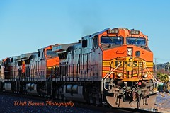 2015_01_31  BNSF #5018 at the Chesley St. crossing. (Walt Barnes) Tags: ca railroad train canon eos engine rail calif locomotive ge hdr bnsf sanpablo topaz generalelectric dash9 dieselelectric c449w 60d canoneos60d topazadjust eos60d wdbones99