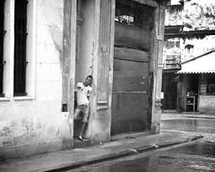 Havana - Cuba (IV2K) Tags: street blackandwhite bw monochrome sony havana cuba centro desaturated cuban habana kuba rx1