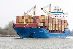 Norderoog (FotoMarc64) Tags: canal ship ships containership kiel schiffe sonyalpha700