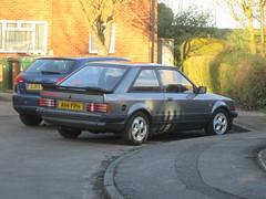 1984 Ford Escort XR3i. (RUSTDREAMER.) Tags: ford 1984 watford escort xr3i rustdreamer