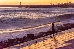 DSC_0245 (sergeysemendyaev) Tags: sunset sea storm beach spring warm waves russia dusk adler atthebeach seashore blacksea seacoast bigwaves sochi  2016                 duringf1 1 duringformulaone