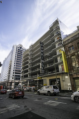 Union Square, San Francisco (mark.hogan) Tags: sanfrancisco california architecture downtown parking wideangle unionsquare