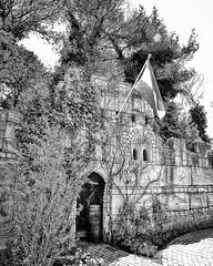 The ruins of a castle that never was... #blackandwhite #bnw #bw #bws (Chantal vander Reijden) Tags: blackandwhite bw bnw bws