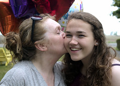 A birthday kiss... (TheWarners) Tags: longpoint provinvialpark ontario lakeerie joanne charlotte