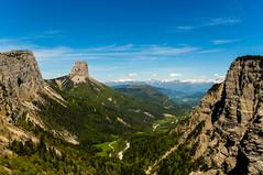 Mont Aiguille (btcjarhead) Tags: france sony sigma vercors randonnée