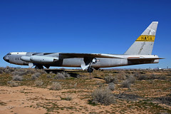 """Tomorrow Caught"" (planephotoman) Tags: display mother edwardsafb buff boeing mothership 008 b52 stratofortress rb52 gateguard testplane nasadrydenflightresearchcenter balls8 nb52b nb52 rb52b afftcmuseum 5200008 launchaircraft 10thb52offtheline 24438totalhours"