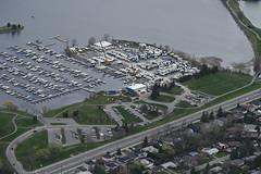 _D827039 (southfacing) Tags: marina crane ottawa ottawariver boatlaunch chuckclark nepeanyachtclub airphotos20160507