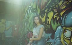 (Erica Pozza) Tags: portrait woman film fashion 35mm model pop analogic pellicola popgirl