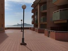 baron island (maximorgana) Tags: street light shadow building island balcony condo lampost triplets lamanga lamangadelmarmenor urbanizacion isladelbaron