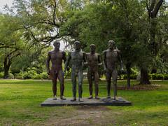 Sculpture garden-5 (uxbobham) Tags: sculpture art neworleans sculpturegarden ancientmen