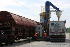 Trenitalia e Cereal Docks: partnership per la logistica sostenibile delle materie prime agricole (Ferrovie dello Stato Italiane) Tags: merci cargo trenitalia cereali materieprime grisignanodizocco cerealdocks lavorazionecereali