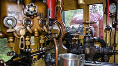 Puffing Billy Trip Melbourne VIC 02 May 2016 (44) (BaggieWeave) Tags: australia melbourne victoria steam vic steamengine steamtrain narrowgauge belgrave steamlocomotive puffingbilly locomotivecab