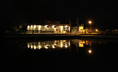 Harbourlights!   IMG_1414 (juststopandlook) Tags: waterfront nocturnal portelgin harbourlights