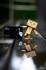 Danboard (MHPhotography91) Tags: portrait bw white black water rain canon reflections studio photography 50mm pub amazon friend bokeh 85mm mh 6d danbo danboard