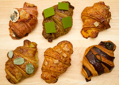 nadege_croissunday2_april16 (YenC) Tags: food toronto mojito croissant matcha redbean camembert dulcedeleche croissunday