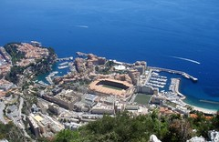Le port de Cap d'Ail, Fontvieille et Monaco-Ville - Principaut de Monaco (3D-Stretch) Tags: france port alpes french mediterranean riviera francaise border cte monaco paca cap cote 06 fontvieille ail ville frontier azur maritimes dail dazur mditerrane alpesmaritimes franaise frontire provencealpesctedazur