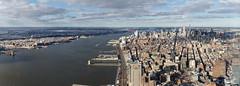 Hudson River and Manhattan (Fippo Gomes) Tags: nyc usa newyork canon us unitedstates eua 2016 eosm