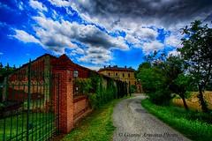 In  collina a Valle San Bartolomeo (AL) (Gianni Armano) Tags: photo al san foto valle natura cielo ville gianni collina antiche grano bartolomeo in storiche armano