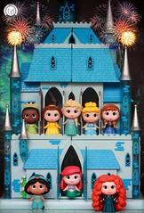 Welcome to the Wonderful World of Disney! (PrinceMatiyo) Tags: anna ariel princess jasmine vinyl disney merida cinderella tiana elsa funko mysteryminis