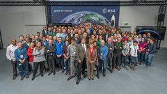 Joint ESA/CNES Galileo (L7) Mission Control Team (ESA_events) Tags: early team control space mission operations gps launch darmstadt navigation esa galileo esoc cnes leop