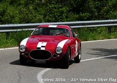 DSC_6573 - Fiat 8V Zagato - 1953 - Gadioli Aldo - Zagato Car Club (pietroz) Tags: silver photo foto photos flag historic fotos pietro storico zoccola 21 storiche vernasca pietroz