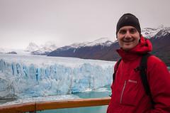 Chris at the Glacier (ckocur) Tags: patagonia ice southamerica argentina nationalpark glacier peritomoreno elcalafate icefield southernpatagonia