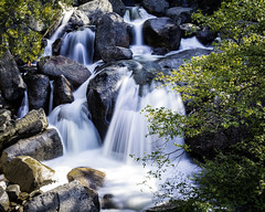 Cascade Falls 1 (grimeshome) Tags: longexposure nature water waterfall nationalpark spring yosemite yosemitenationalpark wilderness nationalparks yosemitevalley cascadefalls longexposurephotography