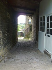 photo1648 (melissawhitaker503) Tags: street old emily village charlotte main ann bronte ginnel haworth 2016 branwell