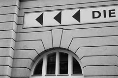 DIE (rainbowcave) Tags: window facade writing fenster fassade schriftzug guesswherevienna