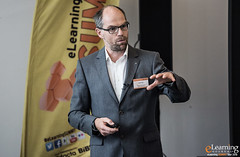 Michael Fally, SPAR sterreichische Warenhandels-AG im Best Practice-Vortrag (eLearning SUMMIT Tour) Tags: salzburg sterreich tour elearning blended summit learning 2016 palfinger thementag