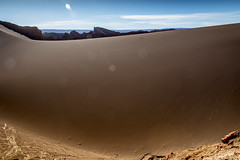 Valle de la Luna #3 (Silvia_T) Tags: chile sky southamerica landscape desert valledelaluna sanpedrodeatacama