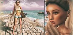 I Love You To The Beach And Back (AnabelleMarquis) Tags: moon fashion events vinyl secondlife virtualreality friday uber locations zenith virtualworlds virtualcommunity catwa bellessima kustom9 anabellemarquis anlarposes pumec shinyshabby santamariadellisolaitaly
