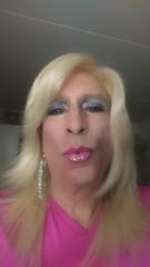 Ready, set... (bevhills2) Tags: pink kiss kissme transgender tranny trans makeup