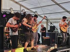 150/366. Dandy Jams. (dazmo862) Tags: music playing black festival drums purple singing ukulele bass guitar stage gig performance band banjo instrument