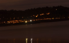 Night view (Nitya..) Tags: longexposure beach nightshot fort goa taj aguada candolim vivanta sinquerium