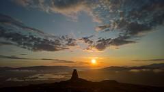 Meall Mor Monument (pinkpebbleperson) Tags: monument dawn scotland spring argyll glencoe rannochmoor meallmor