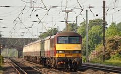 90020 Copmanthorpe 04/06/2016 (Flash_3939) Tags: uk june electric train collingwood rail railway db cargo locomotive railtour eastcoastmainline 2016 copmanthorpe ews ecml class90 mk1 90020