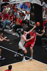 IMG_6174 (seba82) Tags: canon basket pallacanestro olimpiamilano grissinbon pallacanestroreggiana eos5dmkii seba82 sebastanosalati sebastianosalatigmailcom wwwsebastianosalatiit emporioarmanai