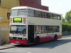 CUL 122V (North West Transport Photos) Tags: bus titan leyland parkroyal kirkby 2122 leylandtitan runningday preservedbus merseybus cul122v nwvrt northwestvehiclerestorationtrust
