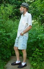 6-15-2016 Today's Clothes (Michael A2012) Tags: summer hat fur this allen style felt mans nashua tassel edmonds loafer stingy resistol