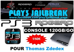 Thomas Zdedex (play3jailbreak) Tags: france slim thomas relay commander play3 mondial 455 jailbreak manette cex ps3 120gb achat envoi acheter rogero zdedex