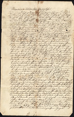 1851 Jacob to Marie3 (Max Kade Institute for German-American Studies) Tags: family handwriting familie genealogy script handwritten cursive sternberger kurrent