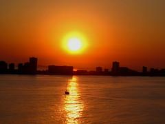 La Manga del Mar Menor Cartagena (Ruben Juan) Tags: sunset espaa costa canon spain ngc manga paisaje murcia marmenor cartagena ocaso g12 powershot1