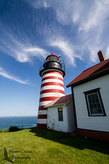 Quoddy State Park - Maine (Shawn Collins Photography) Tags: ocean lighthouse me outdoors photography coast maine atlantic coastal nautical atlanticocean quoddy northernwoods quoddystatepark easterncity