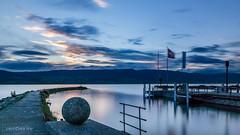 Port d'Estavayer-le-Lac (Switzerland) (christian.rey) Tags: port pose landscape sony lac fribourg alpha paysage 77 neuchtel longue broye 1650 estavayerlelac nd1000