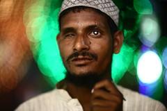 BOKEH for the BLIND (N A Y E E M) Tags: muneer beggar blind portrait latenight lastnight ramadan street muradpur chittagong bangladesh sooc raw unedited untouched availablelight bokeh