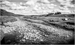 Harwood . (wayman2011) Tags: uk mono rocks streams becks dales pennines lightroom countydurham longexposures harwood teesdale bwlandscapes canon50d bw110 wayman2011