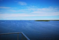 (Sameli) Tags: summer horizon sea water blue bridge 1997 raippaluoto mustasaari suomi finland